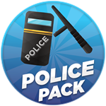 Roblox Blox Life - Shop Item Police Pack
