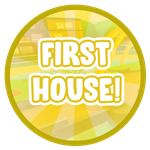 Roblox Blox Paradise - Badge First House!
