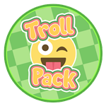 Roblox Blox Paradise - Shop Item Troll Pack
