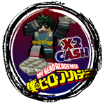 Roblox Boku No Roblox - Shop Item 2x Cash