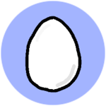 Roblox Book of Monsters - Badge 2D Egg