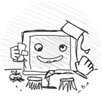 Roblox Book of Monsters - Badge Common DoodleBoard Collector