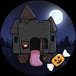 Roblox Book of Monsters - Badge Halloween Casa Loco