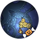 Roblox Book of Monsters - Badge Halloween Insquidious
