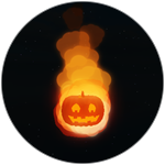Roblox Book of Monsters - Badge Halloween Meteor 2020