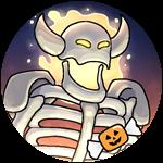 Roblox Book of Monsters - Badge Halloween Minotaur
