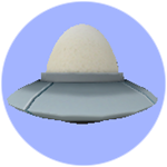 Roblox Book of Monsters - Badge UFO Egg