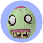 Roblox Book of Monsters - Badge Zombie Egg