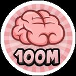 Roblox Brain Simulator - Badge Collect 100M Brains