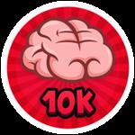 Roblox Brain Simulator - Badge Collect 10K Brains