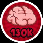 Roblox Brain Simulator - Badge Collect 130K Brains