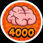 Roblox Brain Simulator - Badge Collect 4000 Brains