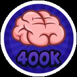 Roblox Brain Simulator - Badge Collect 400K Brains