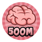 Roblox Brain Simulator - Badge Collect 500M Brains