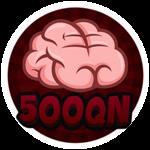 Roblox Brain Simulator - Badge Collect 500QN Brains