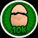 Roblox Brain Simulator - Badge Hatch 10K Eggs