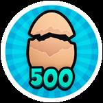 Roblox Brain Simulator - Badge Hatch 500 Eggs
