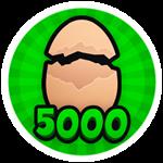 Roblox Brain Simulator - Badge Hatch 5K Eggs!