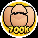Roblox Brain Simulator - Badge Hatch 700k Eggs
