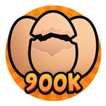 Roblox Brain Simulator - Badge Hatch 900k Eggs