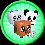 Roblox Bubble Gum Simulator - Shop Item +5 Pets