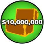 Roblox Car Dealership Tycoon - Badge You have 10M money!