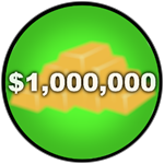 Roblox Car Dealership Tycoon - Badge You have 1M money!