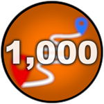 Roblox Car Dealership Tycoon - Badge You have driven 1,000 miles!