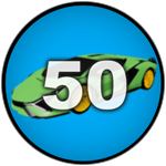 Roblox Car Dealership Tycoon - Badge You own 50 cars!