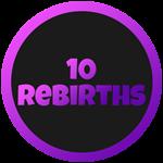 Roblox Cartoon Obby - Badge 10 Rebirths