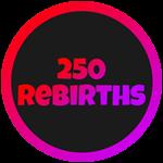 Roblox Cartoon Obby - Badge 250 Rebirths