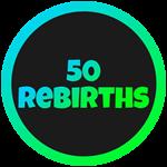 Roblox Cartoon Obby - Badge 50 Rebirths