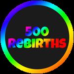 Roblox Cartoon Obby - Badge 500 Rebirths
