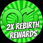Roblox Cartoon Obby - Shop Item 2x Rebirth Rewards