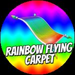 Roblox Cartoon Obby - Shop Item Rainbow Flying Carpet