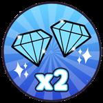 Roblox Castle Defenders - Shop Item [25% SALE] X2 Gems