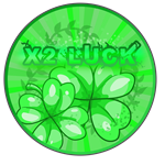 Roblox Clover Kingdom Grimshot - Shop Item x2 Luck