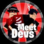 Roblox Corridor of Hell - Badge Meet the developers!