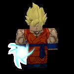 Roblox Dragon Ball Rage - Badge Goku Sticker