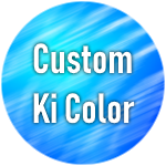 Roblox Dragon Ball Rage - Shop Item [SALE] Custom Ki Color