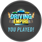 Roblox Driving Empire - Badge You played!