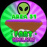 Roblox Fart Simulator - Badge Area 51 Reached!