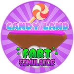 Roblox Fart Simulator - Badge Candy Land Reached!