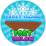 Roblox Fart Simulator - Badge Frost Island Reached!