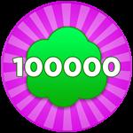 Roblox Fart Simulator - Badge Got 100K Gas