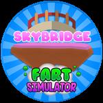 Roblox Fart Simulator - Badge Skybridge Reached!