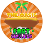 Roblox Fart Simulator - Badge The Oasis Reached!