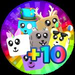 Roblox Fart Simulator - Shop Item +10 Pets Equipped