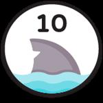 Roblox Fishing Simulator - Badge 10 Sea Creatures Hunted