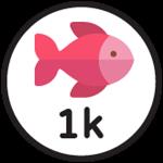 Roblox Fishing Simulator - Badge 1,000 Catches